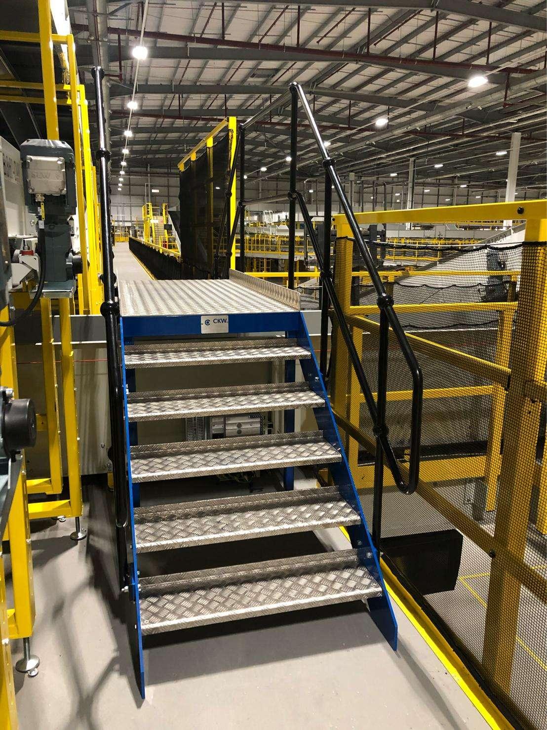 Bespoke Metal Fabrication Staircase