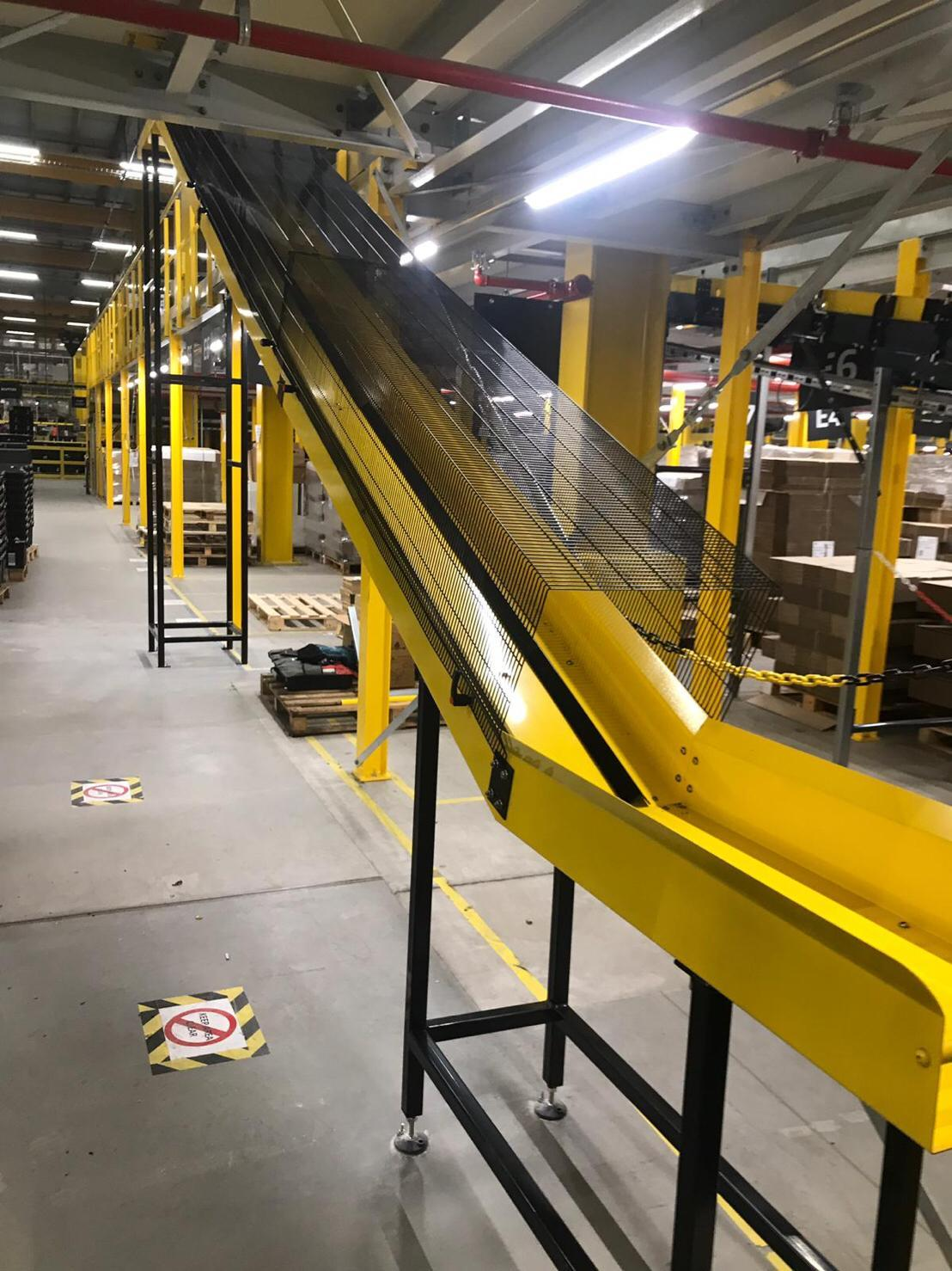 Amazon Conveyor System fabrication