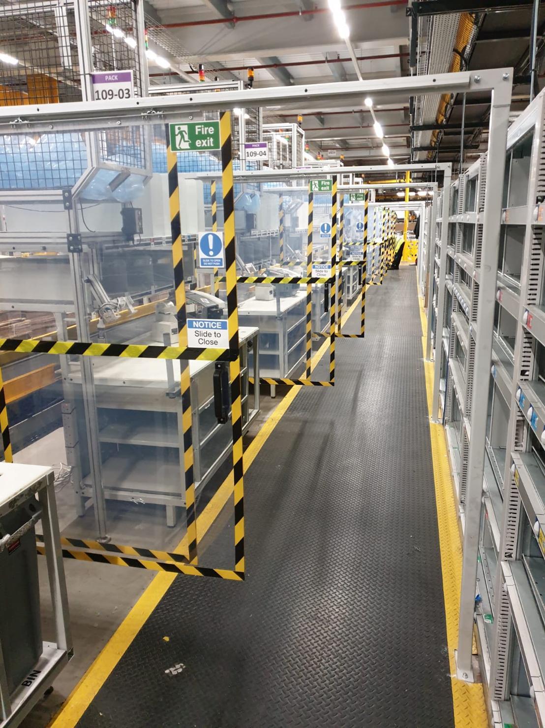 Bespoke Metal Fabrication Safety Guards