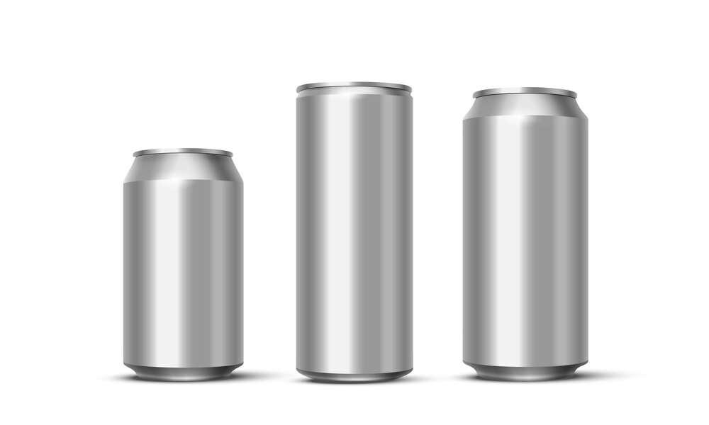 3D Model Beverage Cans