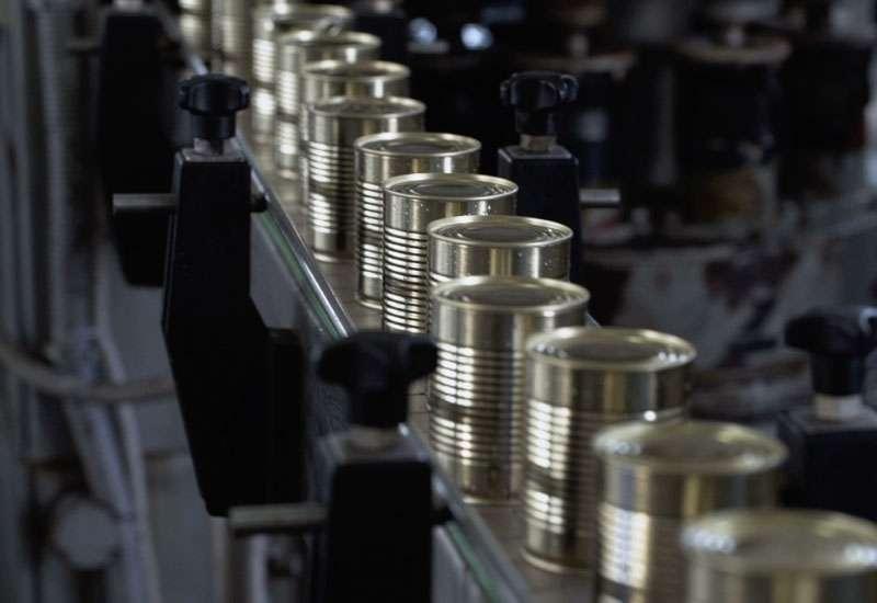 Food Canning Single Lane Conveyor System