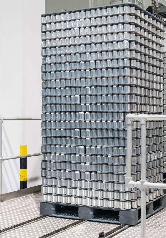 Canning Industry Depallatiser